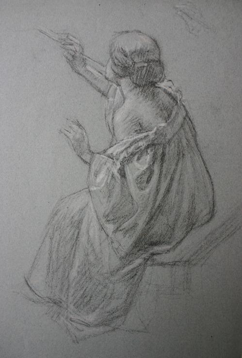 e-rosset-granger-marcelle-assise-de-dos-soufflant-des-bulles-de-savon-etude-pour-la-fee-aux-amours-craies-noire-et-blanche-400-x-310-vers-1910-1915