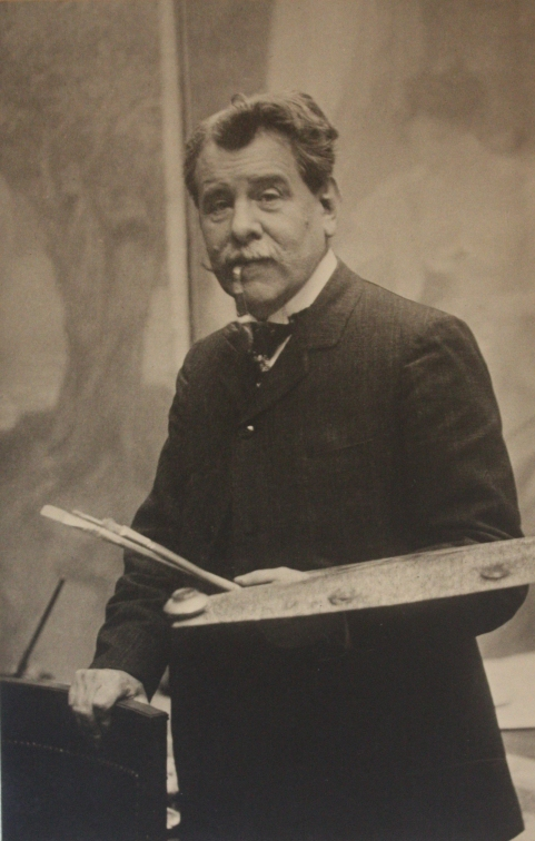 edouard-rosset-granger-6-portrait-a-la-palette-vers-1910